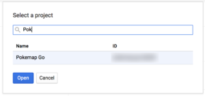 Google Developers Console : Credentials